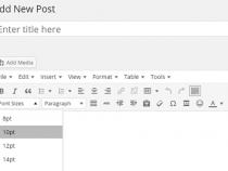 Thay đổi kích cỡ chữ cho Post/Page trong wordpress theo mong muốn