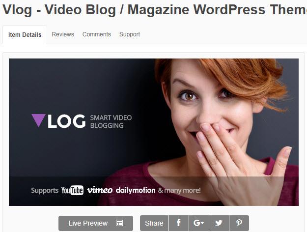 theme wordpress làm web video