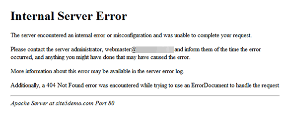 Sửa lỗi Internal Server Error trong WordPress