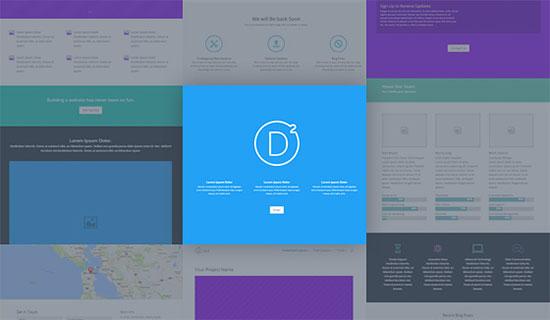 plugin tạo landing page divi