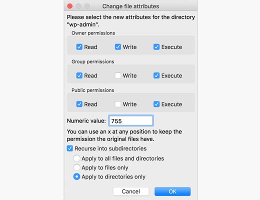 cách sửa lỗi 403 forbidden error trong wordpress