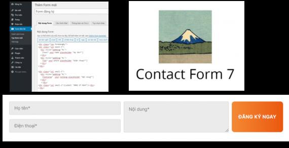 Cách tạo Form 3 cột bằng Plugin Contact Form 7 đẹp mắt